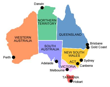 Major Cities In Australia Map.Major Cities Of Australia Map Afp Cv